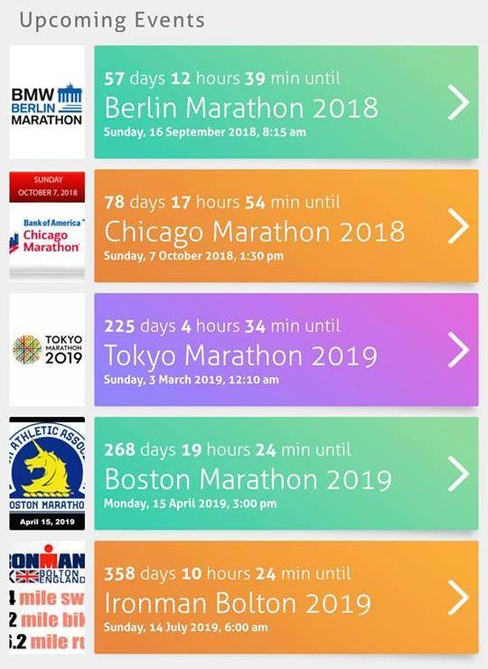 Gabi RunsWorld Marathon Majors Finisher '19boston marathon